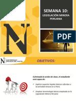 SEMANA10- LEGISLACION MINERA 2017-1.pdf
