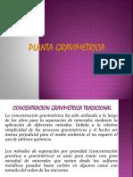 14. PLANTA GRAVIMETRICA