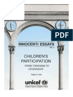 Childrens Participation - from Tokenism to Citizenship - UNICEF