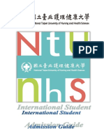 International Student Admission Guide