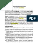Modelo contrato comercialización