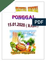 CUTI PONGGAL