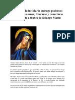 NUEVO Madre María entrega poderoso Decreto para sanar