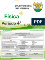 13. Física - 4° Periodo -  I.E.T. Carlos Lleras Restrepo