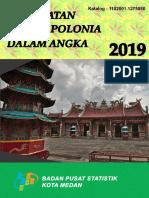 Kecamatan Medan Polonia Dalam Angka 2019