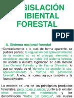 LEGISLACIÓN AMBIENTAL FORESTAL