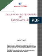 EVALUCION DE DESEMPEÑO BANCO AVVILLASlll