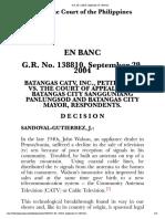 Batangas CATV, Inc. v. Court of Appeals G.R. No. 138810, September 29, 2004.htm