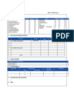 HSE Daily Report Form