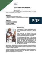 068 - EBD - EL PROFETISMO 3 - Tipos de Profetas