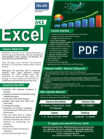 Basic to Advance Excel A4