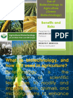 controversies in green biotech
