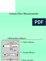 Vol Flow Measurements