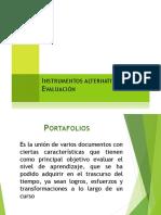 Instrumentos alternativos de Evaluación 2019