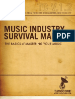 Music Industry Survival Manual-Volume 1.2, Mastering.