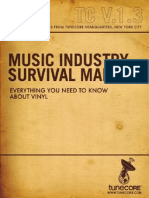 Music Industry Survival Manual-Volume 1.3, Vinyl 101.