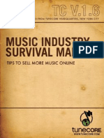 Music Industry Survival Manual-Volume 1.6, Tips to Sell More Music Online.