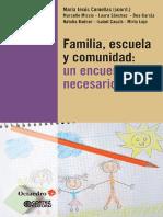 Familia, escuela y comunidad