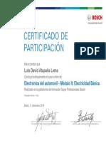Electricidad - Módulo I Básico_Certificado