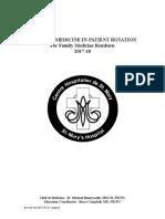 Internal Medicine Resident Rotation Handbook