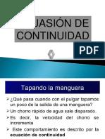 Ecuasi+¦n de continuidad
