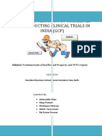 Critical Evaluation of Guidelines for Conducting Clinical Trials in India