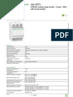 limitador de sobretension Schneider. Acti 9 iPF e iPRD_A9L16573.