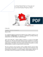 Ancestral Property