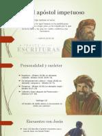 Pedro el Apostol impetuoso