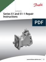 Bent Axis Motor Repair