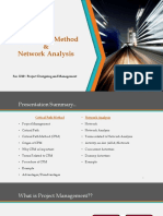 cpm network analysis final