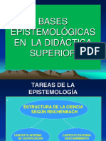 EPISTEMOLOGÌA EN DOCENCIA UNIVERSITARIA.ppt