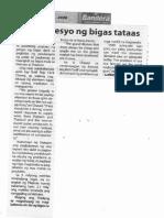 Bandera, Jan. 21, 2020, Solon Presyo ng bigas tataas.pdf