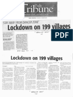 Daily Tribune, Jan. 21, 2020, Lockdown on 199 villages.pdf