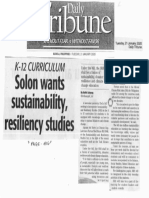 Daily Tribune, Jan. 21, 2020, Solon wants sustainability resiliency studies.pdf