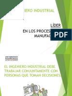 1.3 Presentación El II Lider en Procesos de Manufactura