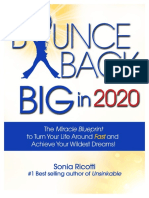 Bounce Back BIG by Sonia Ricotti