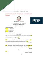 ALLEGATO 1 - Modello sintetico di sentenza base ex art. 352, c. 1 c.p.c.