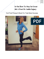 How To Stay In Shape With A Hurt Foot 2019.pdf