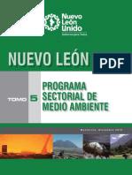 TOMO_5 (Programa Sectorial de Medio Ambiente) BR