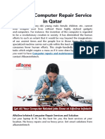 The Best Computer Repair Service in Qatar