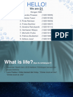 Whats life based on metabolism theory.pptx
