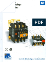 Catalog of Contactor & Over Load Relay.