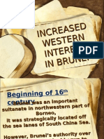 The Increase Of Western Influence In Brunei