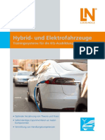 Hybrid and Electric Vehicles -Training ssysteme