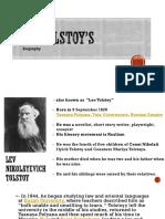 Leo Tolstoy 2.0