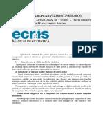 20111220Manualdestatistica(ECRIS4)revizuit