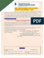INTERNATIONAL PROFESSIONAL DEVELOPMENT FELLOWSHIP PROGRAMME – 2010