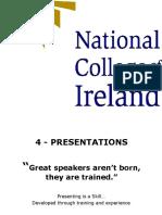 NCI Presentations skills