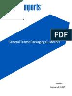 General Transit Packaging Guidelines V1.3